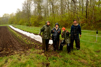 Plantin' in the rain, April 20-May 1, 2012